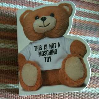 This is not a Moschino Toy eau de toilette