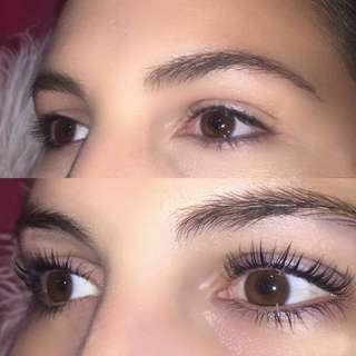 TRAINING MODELS NEEDED Lash lift