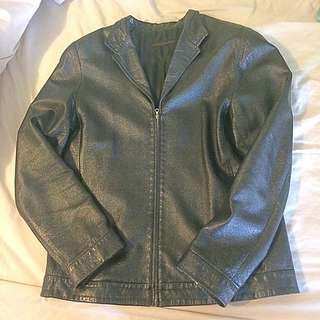 Vintage Lamb/sheep leather jacket made in Italy 🇮🇹