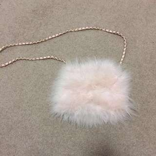 Forever New Fluffy Evening Bag