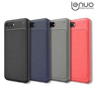 華為HUAWEI Nova 2s LEUNO 樂紳 防摔保護套 商務皮紋手機軟套 TPU Case GSA3900A