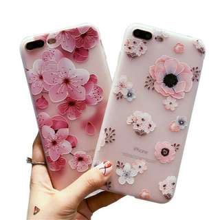 PO ! Cherry Blossom Soft case for Iphone 5 - X