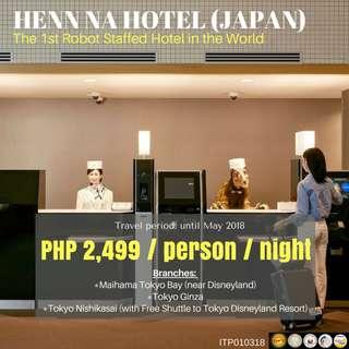 Budgeted Japan Accommodation: Henn Na Hotel