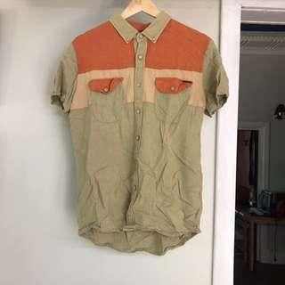 Afends button up shirt