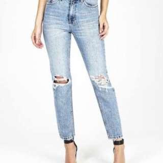 Ksubi slim pin placid push jeans