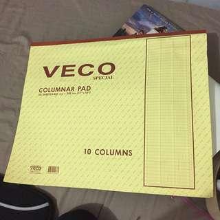 Veco• columnar pad