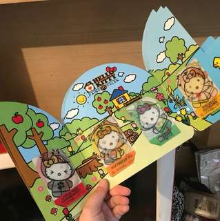HELLOKITTY FAIRY TALES 3D 美食卡 收藏