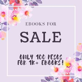 EBOOKS PACKAGE FOR 100 (SOON TO OPEN)
