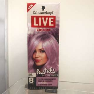 *Gold Coin Donation* Schwarzkopf Live Colour Lilac Blush