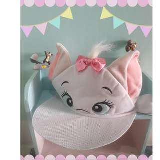 早期絕版東京迪士尼瑪麗貓Marie Cat帽子