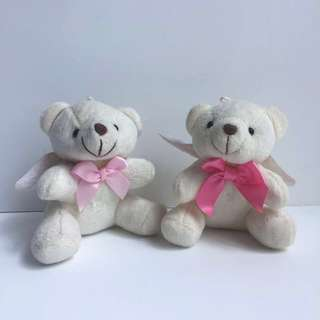 Soft Toys - two white angel bears