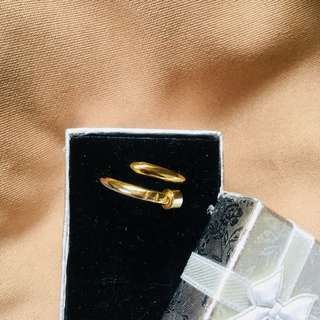 Unisex nail ring