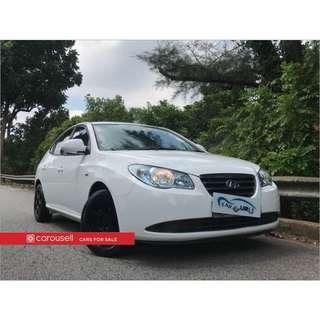 Hyundai Avante 1.6A Sunroof (COE till 11/2022)