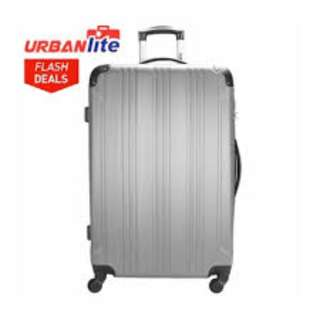 "Urbanlite Echo 20"" Spinner Hard Case Luggage - ULH 7904 Silver"