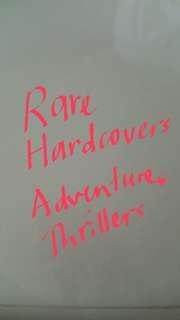 Rare hardcovers