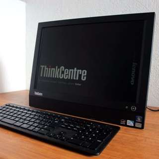 All in one Pc Lenovo Dual core 500gb hdd Free Deliver
