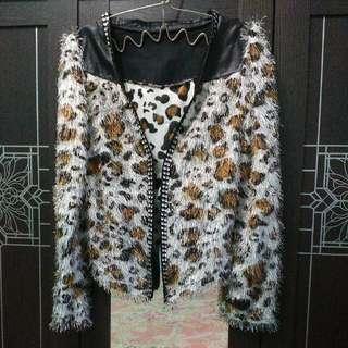 Blazer Bulu Leopard