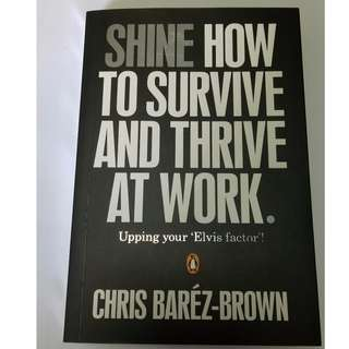 Shine: How to Survive and Thrive at Work Paperback – July 1, 2011 by Chris Barz-Brown (Author)