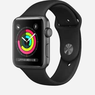 Apple Watch 3 38mm黑色