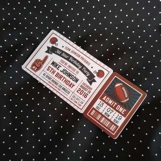 Ticket Sticker