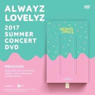 [PREORDER] LOVELYZ 2017 SUMMER CONCERT ALWAYZ DVD (3 DISC)