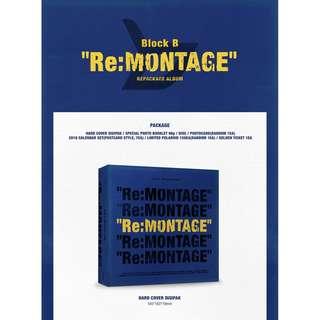 [PREORDER] BLOCK B - RE:MONTAGE / REPACKAGE