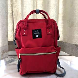 Anello Bag red color