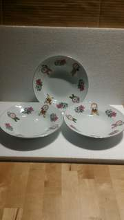 3 Plates for $45