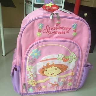 School Bag strawberry shortcake