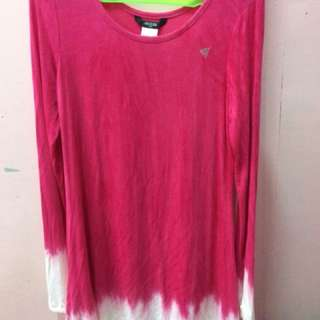 Guess Pink Ombre Dress
