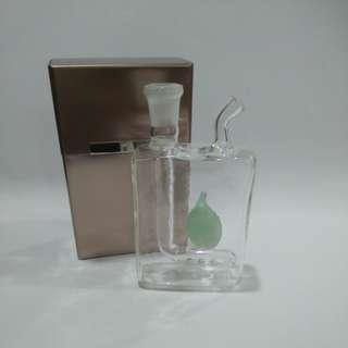 Cig box size display glass
