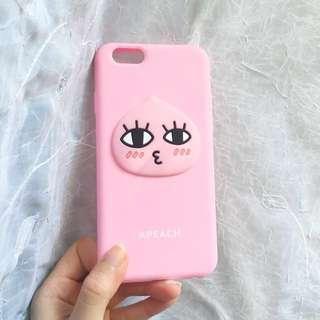 Apeach iphone 6/6s case