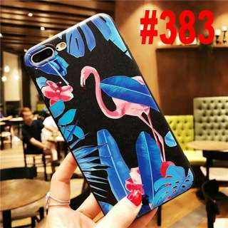 PO ! Flamingo Soft case for iphone 5s - 8+
