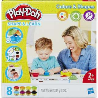 PLAY-DOH SHAPE & LEARN COLORS & SHAPES