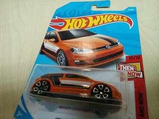 Hotwheels volkswagen golf MK7