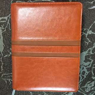 Leather planner/diary/scheduler 2018