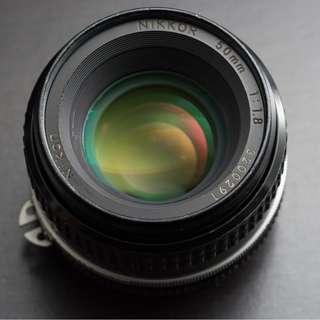 Nikon 50mm f/1.8 Ai