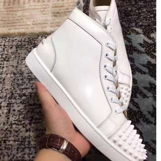 Christian louboutin white