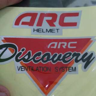 Sticker helmet ARC discovery