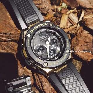 Montres Company香港註冊公司(25年老店) CASIO g-steel GST-S300 GST-S300G GST-S300G-1 GST-S300G-1A9 四隻色都有現貨 GSTS300 GSTS300G GSTS300G1 GSTS300G1A9