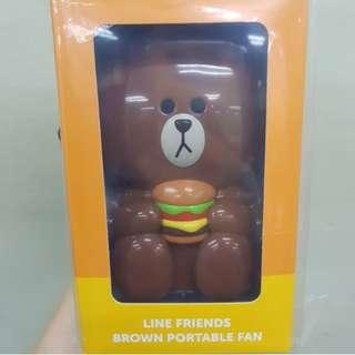 McDonald X Line = Brown Fan