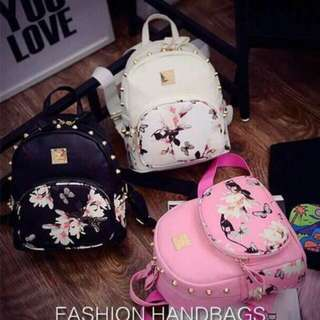 Girl Floral backpack (Thick Quality)