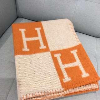 Hermes 羊絨巾
