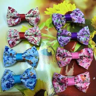 Hair clips set 6pcs