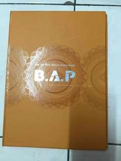 BAP 1st Mini Album Repack (Crash)