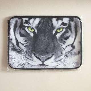 BN Ready Laptop Sleeve - White Tiger