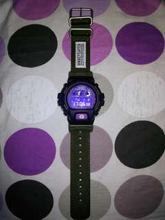 G-Shock DW6900 x Undefeated Custom