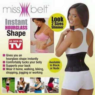 Hourglass shape in an instant