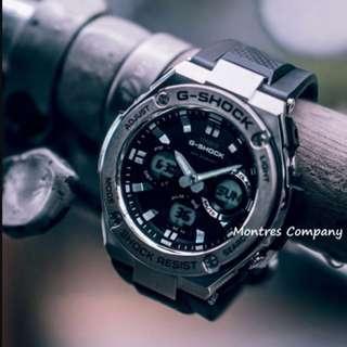 Montres Company香港註冊公司(25年老店) CASIO g-steel GST-S310 GST-S310-1 GST-S310-1A 兩隻色都有現貨 GSTS310 GSTS3101