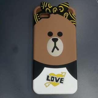 香港Line friends store iphone6+/6S+手機殼(Choco)